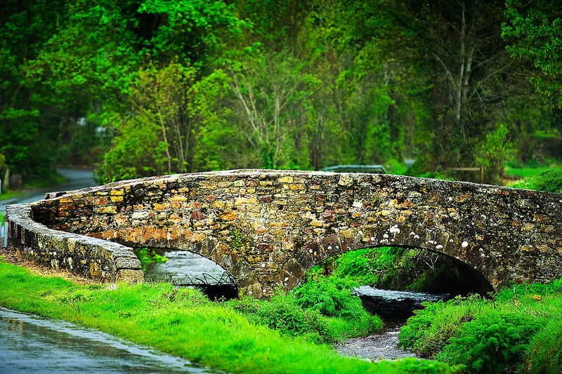 Colourful Stone Bridge