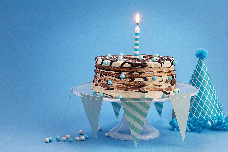 Chocolate Swirl Birthday